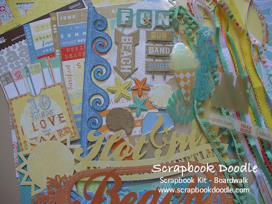 Scrapbook Kit - Boardwalk