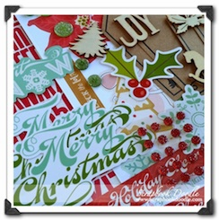 Scrapbook Kit - Christmas Memories - SOLD OUT