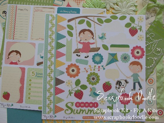 Scrapbook Kit - Fly A Kite