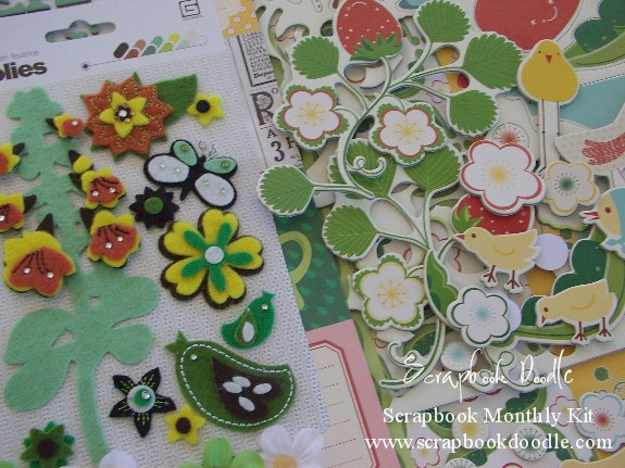 Scrapbook Kit - Garden Variety