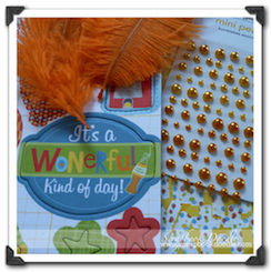 Scrapbook Kit - Happy Birthday - SOLD OUT