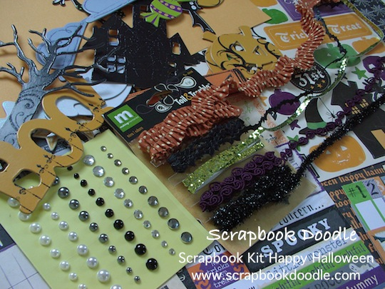 Scrapbook Kit - Happy Halloween