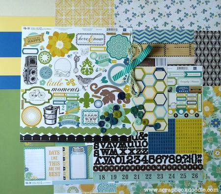 Scrapbook Kit - Here & Now
