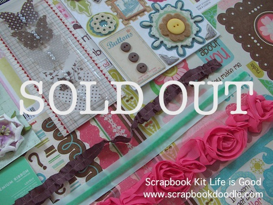 Scrapbook Kit - Life is Good