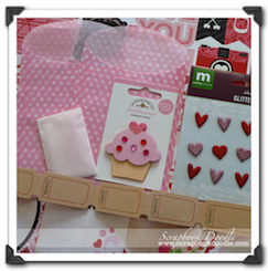 Scrapbook Kit - Love Story - SOLD OUT