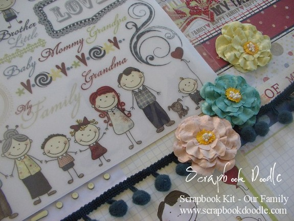 Scrapbook Kit - Our Family - SOLD OUT