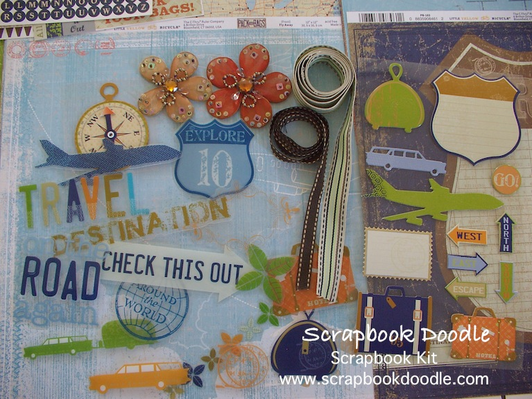 Scrapbook Kit - Pack Your Bags