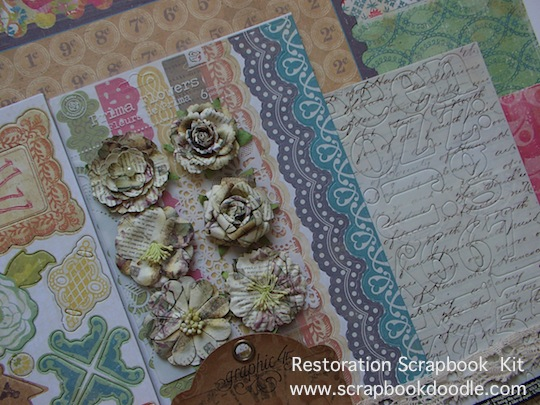 Scrapbook Kit - Restoration - (S/O)