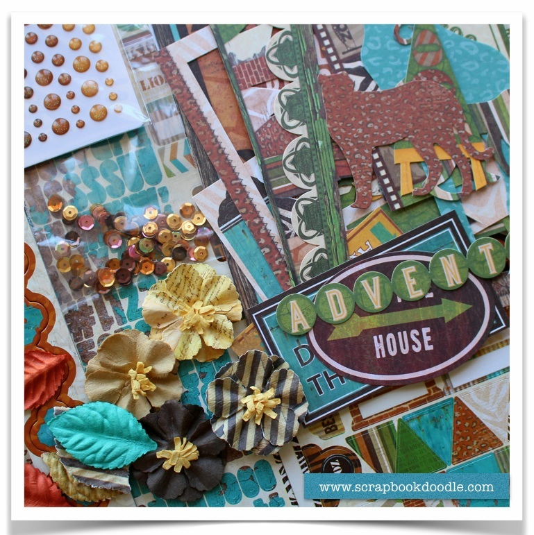 Scrapbook Kit - Safari - SOLD OUT