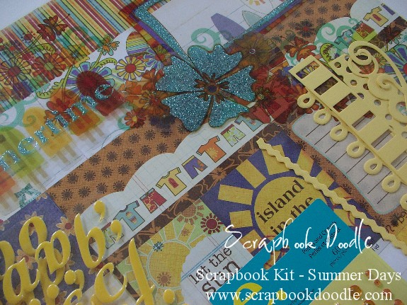 Scrapbook Kit  - Summer Days