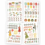 Simple Stories Carpe Diem The Reset Girl Icons Stickers (E)