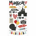 Simple Stories Say Cheese III Chipboard Stickers 6x12