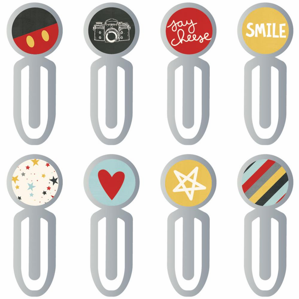 Simple Stories Say Cheese III Epoxy Metal Clips
