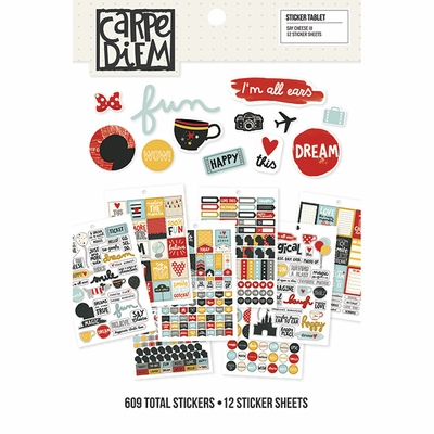 Simple Stories Say Cheese III Sticker Tablet