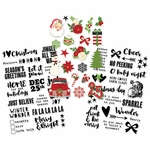 Simple Stories Very Merry Clear Stickers