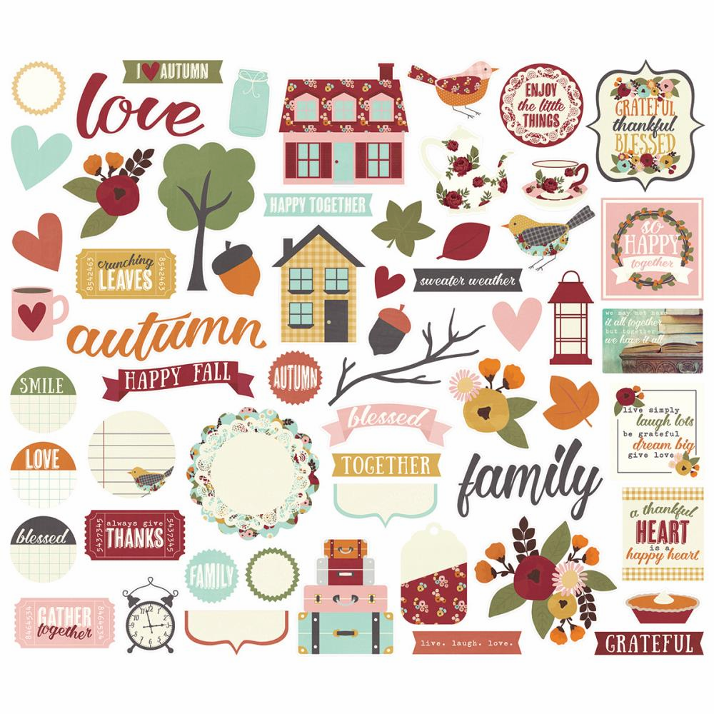 Simple Stories Vintage Blessings Bits and Pieces