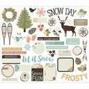 Simple Stories Winter Wonderland Bits and Pieces
