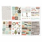 Simple Stories Winter Wonderland Stickers