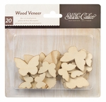 Studio Calico Wood Veneer Shapes Butterflies