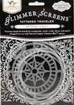 Tattered Angels Glimmer Screens Tattered Traveler 3/Pkg
