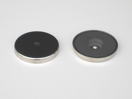 "3.190"" Dia x 0.440"" Cup Assembly Magnet"