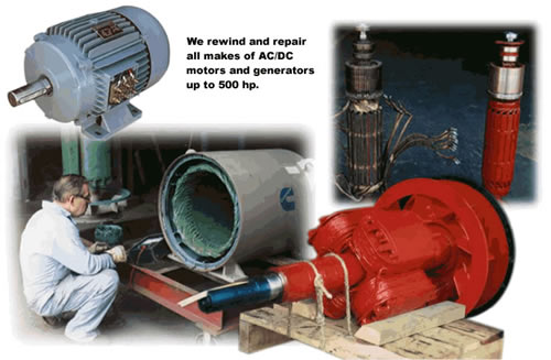 Electric Motors and Generator Service