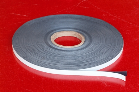"Flexible Magnetic Stripping 0.030"" x 0.50"" x 200' PSA"