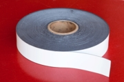 """Flexible Magnetic Stripping 0.030"""" x 2.00"""" x 200' White"""