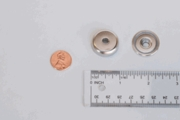 """Neodymium Cup Assembly Magnet 1.250"""" dia x 0.3"""" (Tapered Hole)"""