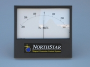 NorthStar Panel DC Voltmeter  (-300V to +300V)