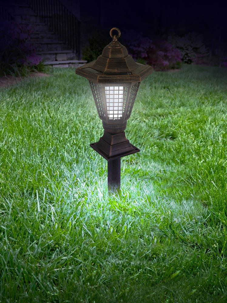 2 In 1 Solar Bug Zapper And Garden Stake Wholesale at Koehler Home Decor