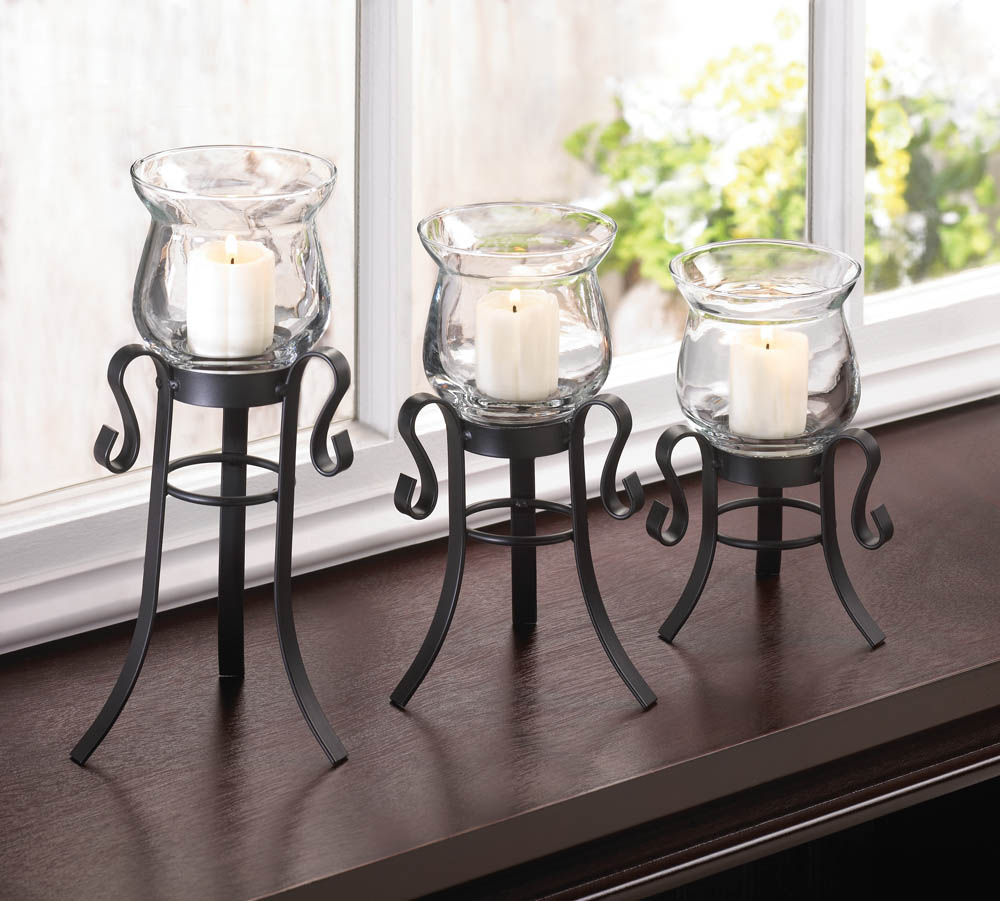 Wholesale Home Interiors: Allure Candle Stand Trio Wholesale At Koeher Home Decor