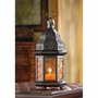 Amber Moroccan Candle Lantern