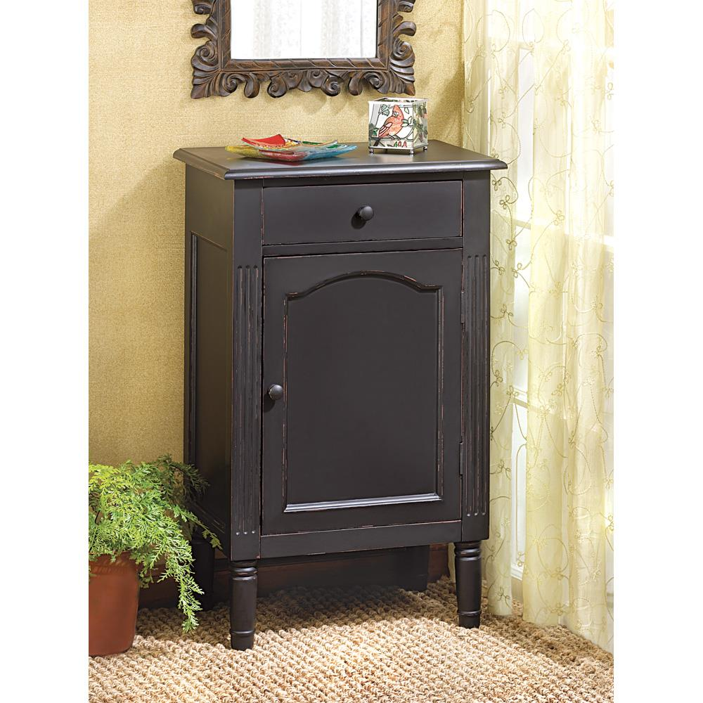 Antiqued Black Wood Cabinet Antiqued Black Wood Cabinet  sc 1 st  Koehler Home Decor : antiquing wood cabinets - Cheerinfomania.Com