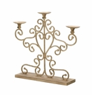 Antiqued Candleabra