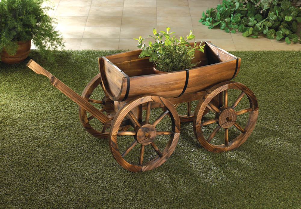 apple barrel planter wagon wholesale at koehler home decor