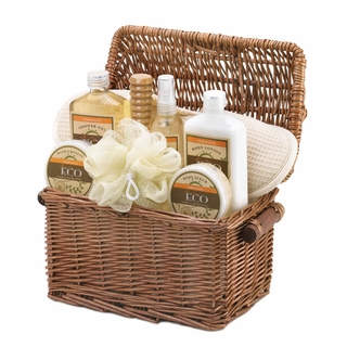 Aromanice Vanilla Ginger Spa Gift Basket