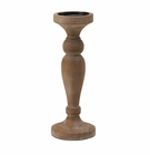 Artisan Wooden Candle Holder