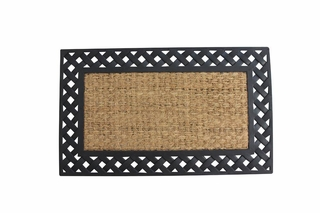 Basket Weave Welcome Mat
