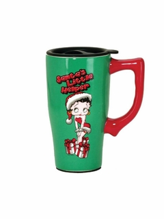 Betty Boop Santa Travel Mug