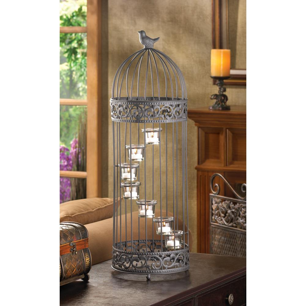 Birdcage staircase candle stand wholesale at koehler home for Koehler home decor