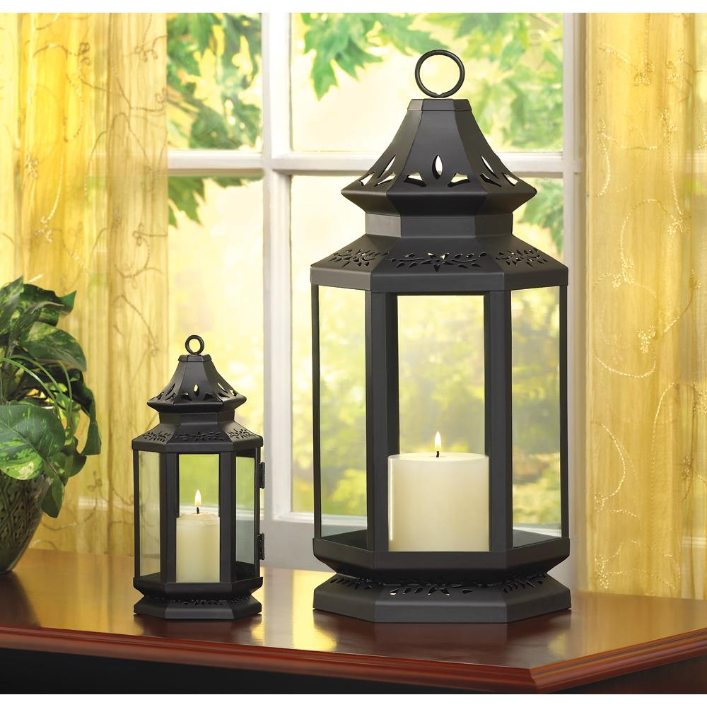 Black stagecoach lantern wholesale at koehler home decor for Koehler home decor