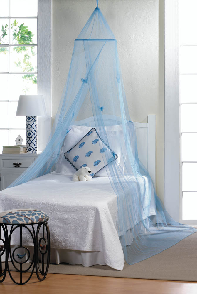 Blue Erfly Bed Canopy