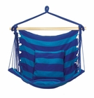 Blue Stripe Hammock Chair