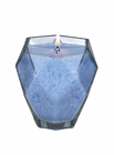 Blue Topaz Jewel Glass Candle