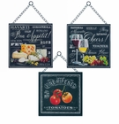 Bon Appetite Wall Decor Set