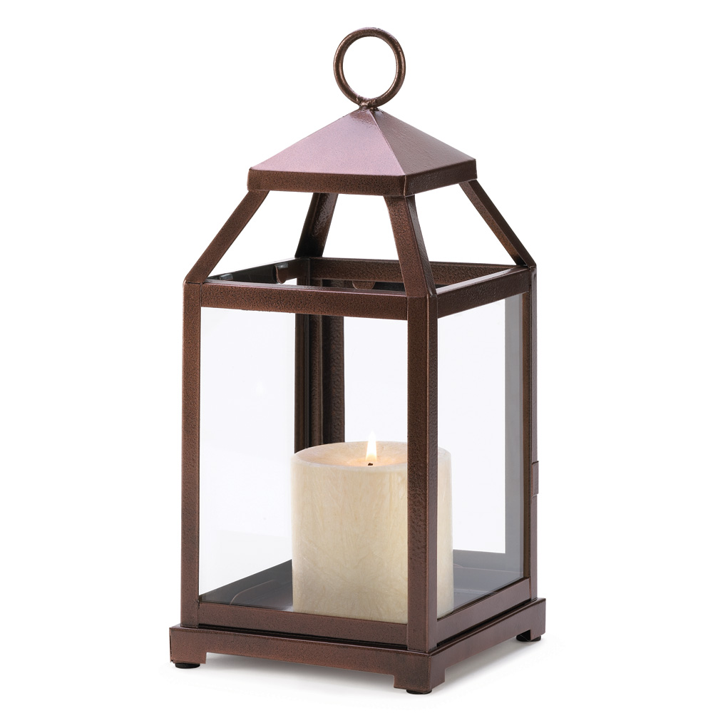 Bronze Contemporary Candle Lantern Wholesale At Koehler