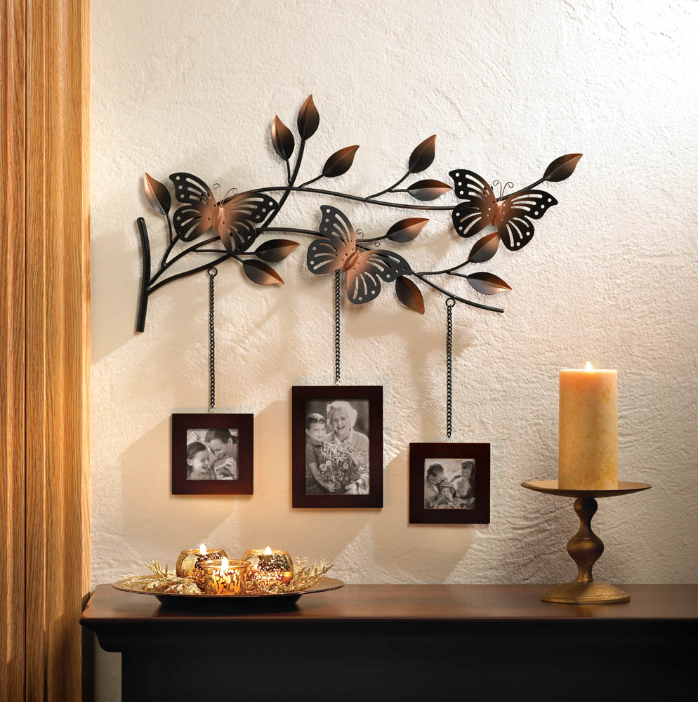 Butterfly frames wall decor wholesale at koehler home decor Metal home decor