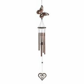 Butterfly & Heart Wind Chime