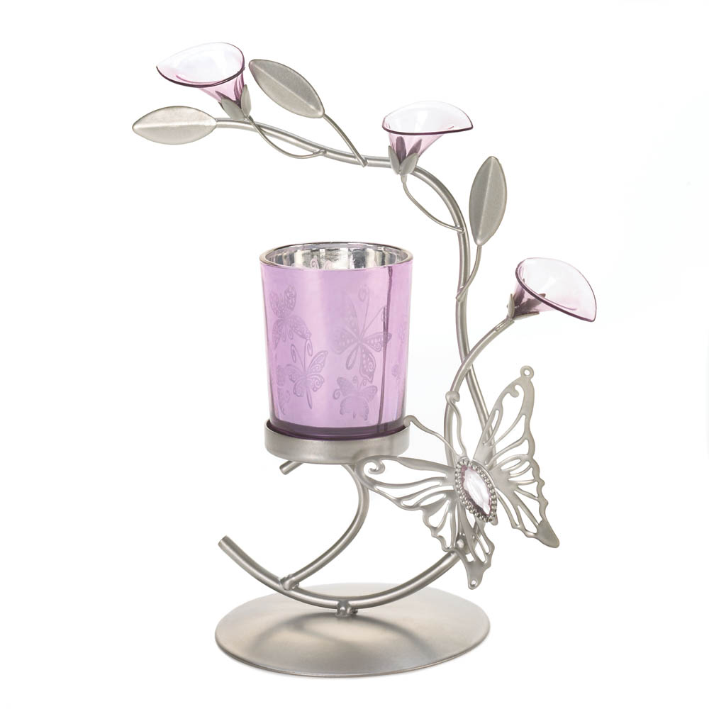 butterfly lily candleholder wholesale at koehler home decor
